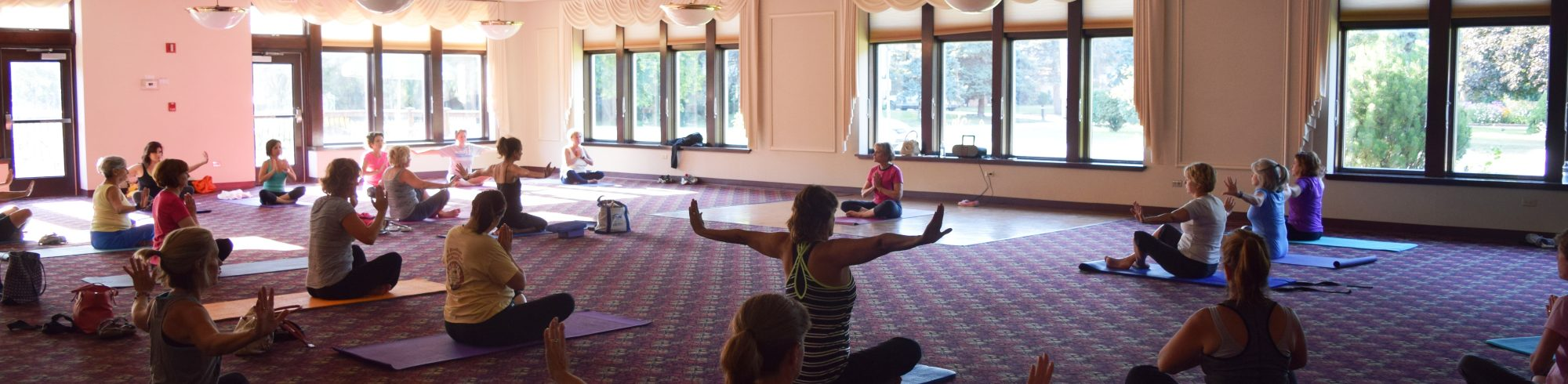 yoga fitness classes river trails park district