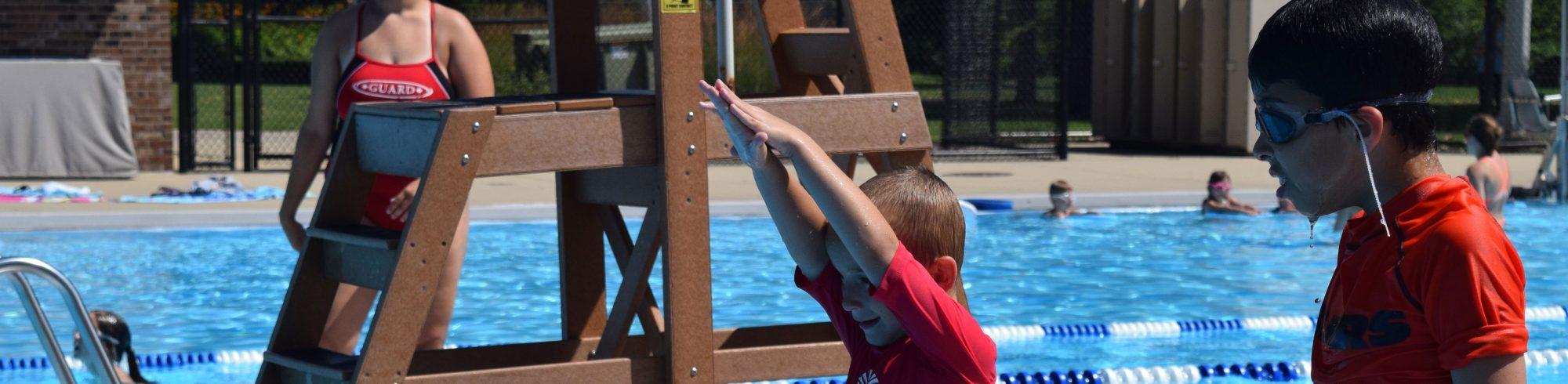 Swim Lessons Featured