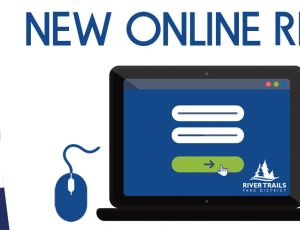 new online registration banner