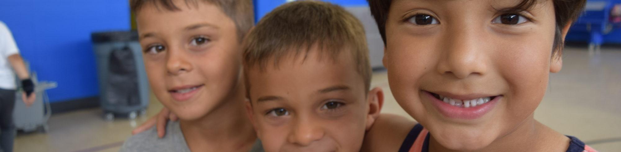 photos of preschoolers in class