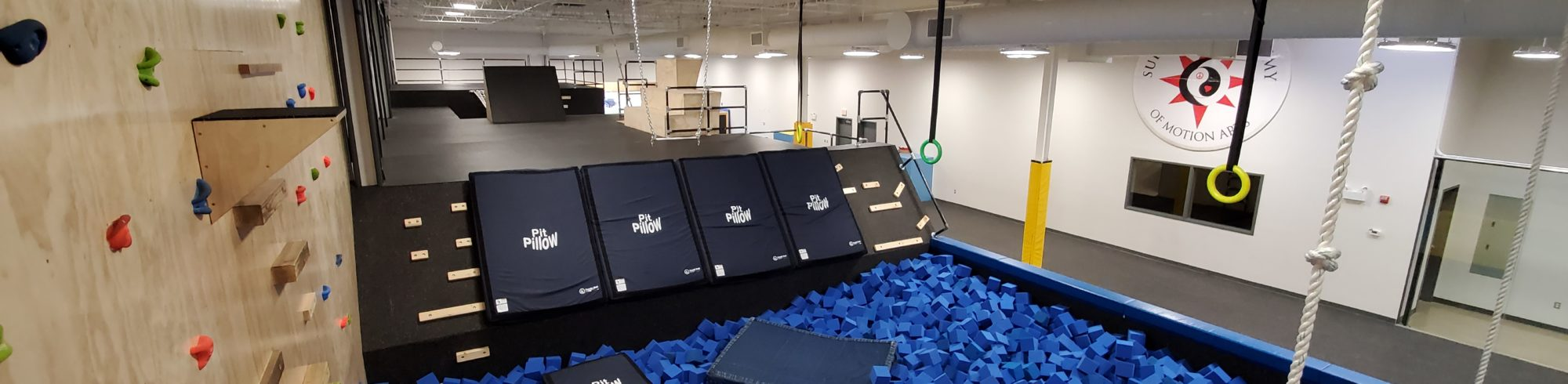 photo of new parkour space