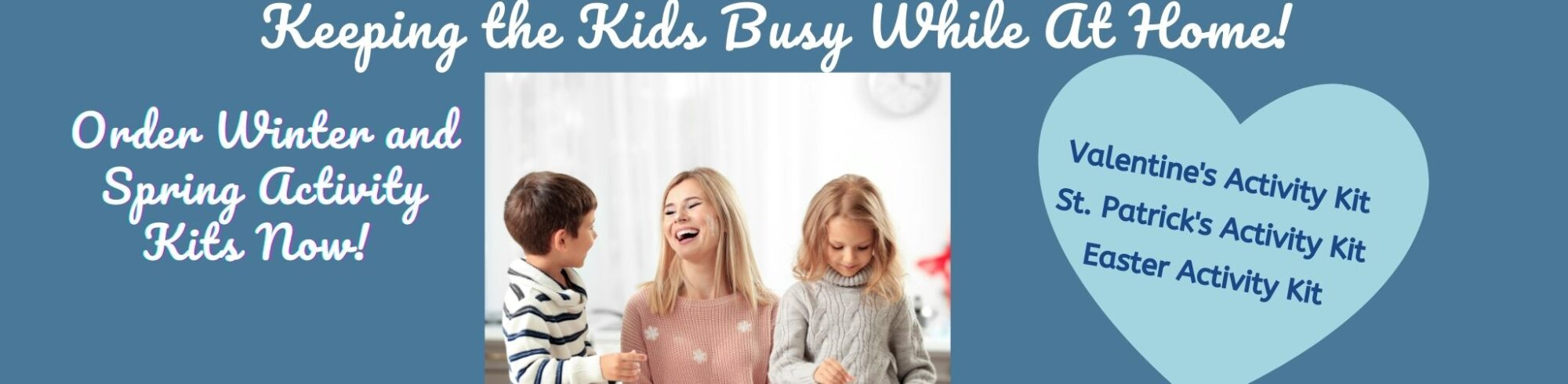 activity kits available for the holidays