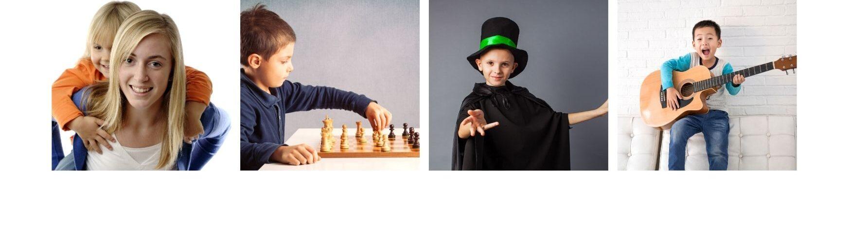 various youth programs (magic, guitar, chess)