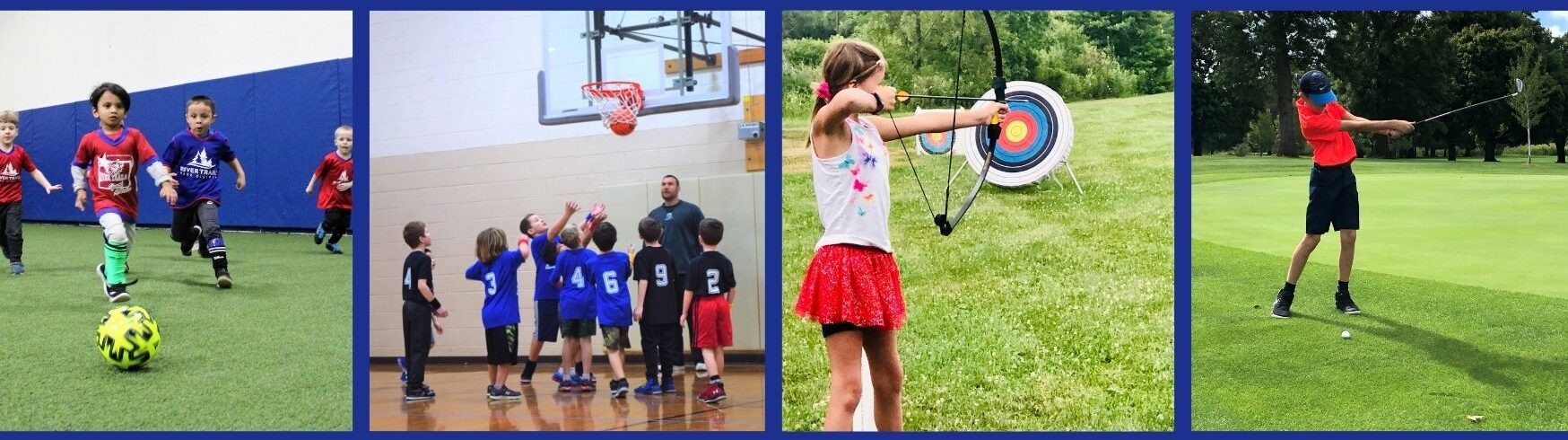 various youth sports
