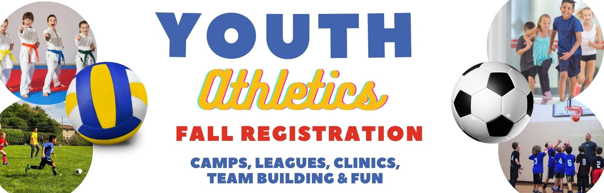Various Pictures of Youth Fall Athletics